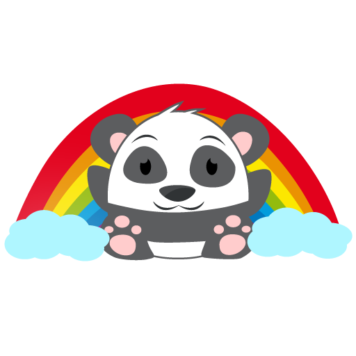 Oh Panda! Stickers messages sticker-9
