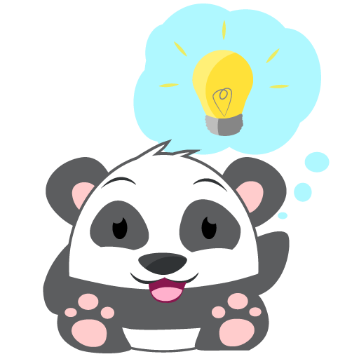 Oh Panda! Stickers messages sticker-11