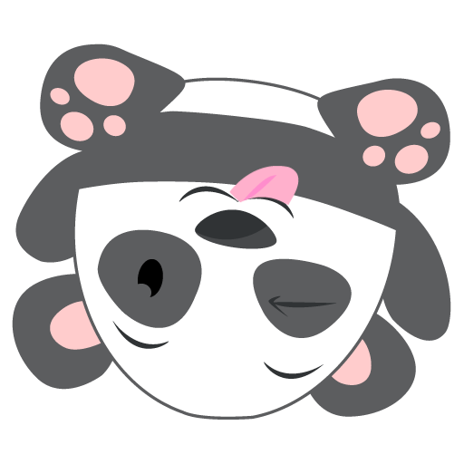 Oh Panda! Stickers messages sticker-1