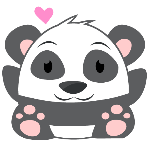Oh Panda! Stickers messages sticker-3
