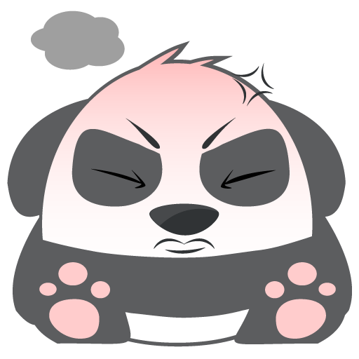 Oh Panda! Stickers messages sticker-7