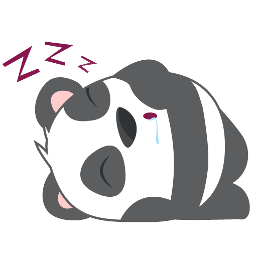 Oh Panda! Stickers messages sticker-4