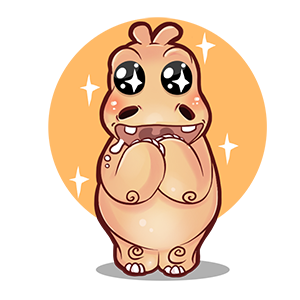 Super Hippo Stickers messages sticker-8