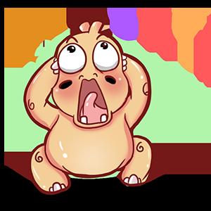 Super Hippo Stickers messages sticker-2