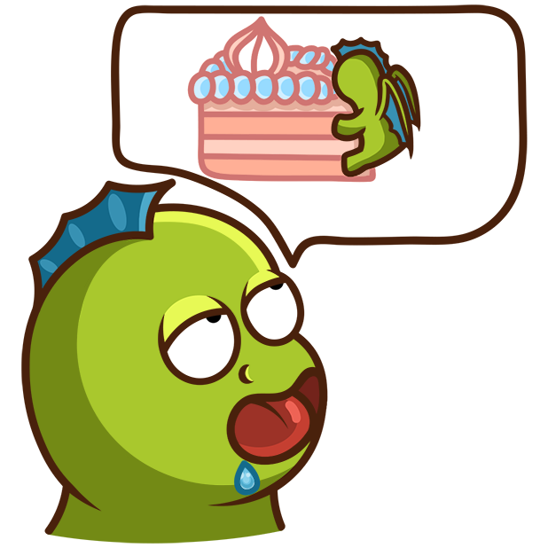Sparky the Dragon messages sticker-8