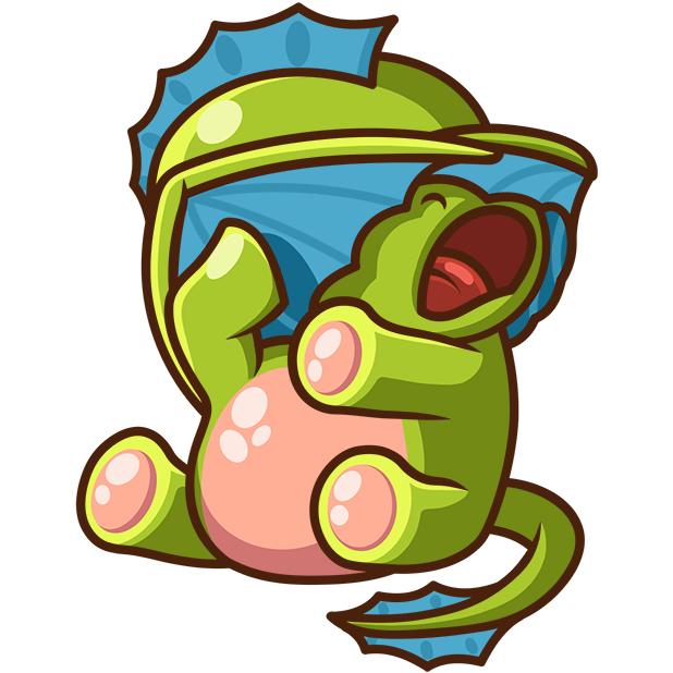 Sparky the Dragon messages sticker-11