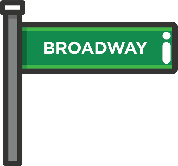 Broadway Stickers messages sticker-2