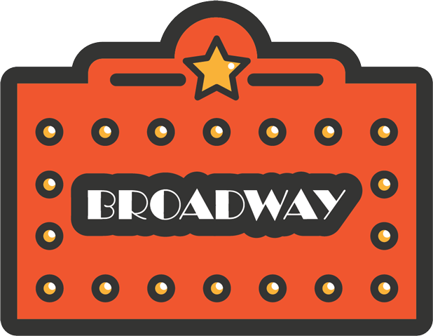 Broadway Stickers messages sticker-0