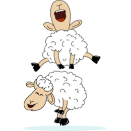 Lamb Festival stickers by Esra Olmez messages sticker-4