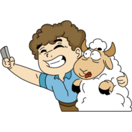 Lamb Festival stickers by Esra Olmez messages sticker-1