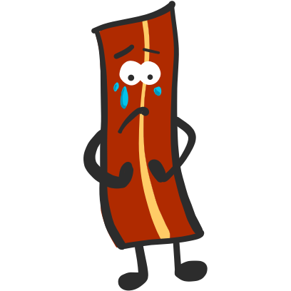 Mister Bacon messages sticker-8