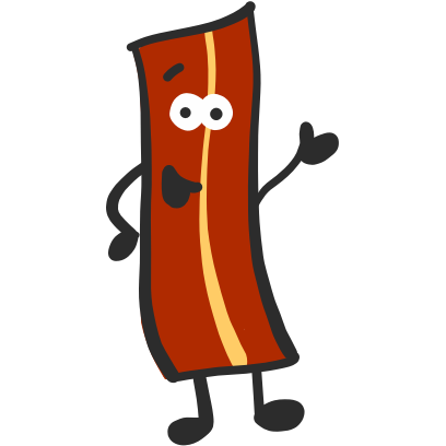Mister Bacon messages sticker-0