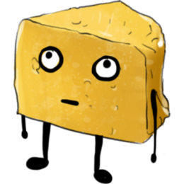 Cheese Stickers stickers by Hasan messages sticker-6