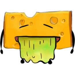 Cheese Stickers stickers by Hasan messages sticker-8