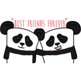 The Lazy Panda stickers by Hazal for iMessage messages sticker-7