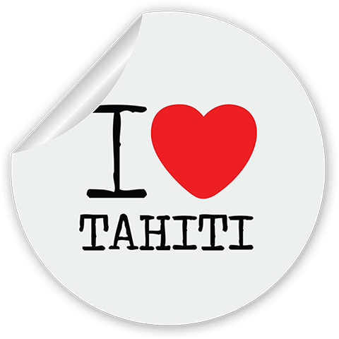Tahiti Stickers for iMessage messages sticker-11