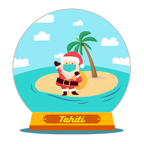 Tahiti Stickers for iMessage messages sticker-7