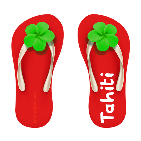 Tahiti Stickers for iMessage messages sticker-8
