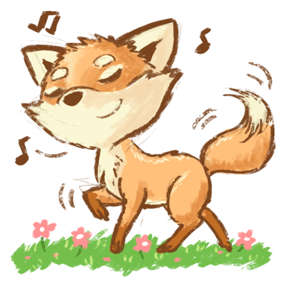 Foxtail LOL messages sticker-3