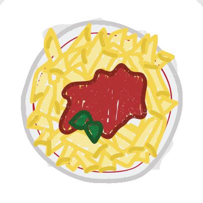 Food Sketch Stickers messages sticker-0