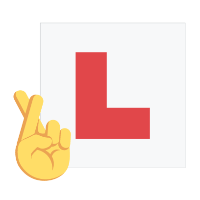 Learner driver pack by miDrive messages sticker-5
