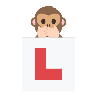 Learner driver pack by miDrive messages sticker-2