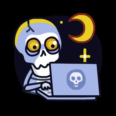 HeySkull messages sticker-8
