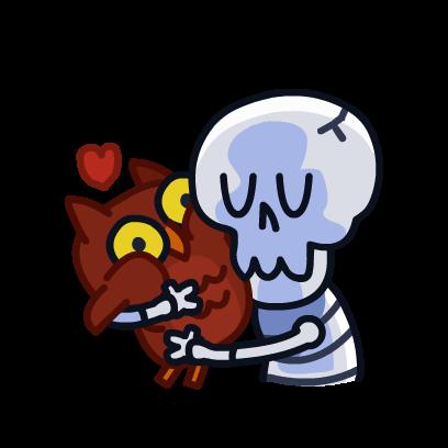 HeySkull messages sticker-2