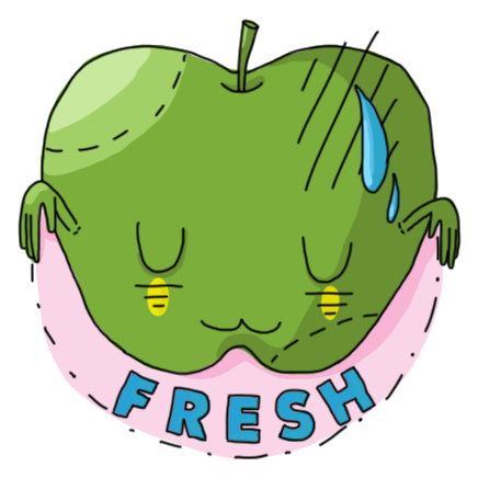 Fancy vegan messages sticker-4