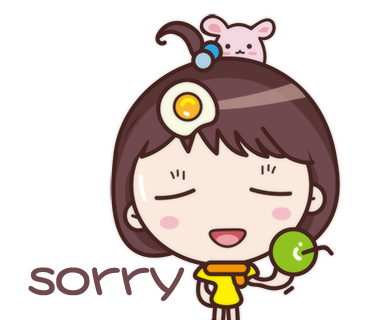 Yolk Girl Sticker - Cute Message Sticker Emoji messages sticker-11