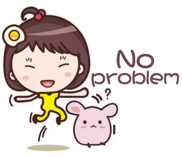 Yolk Girl Sticker - Cute Message Sticker Emoji messages sticker-3