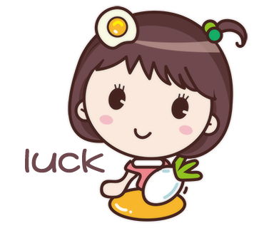 Yolk Girl Sticker - Cute Message Sticker Emoji messages sticker-9