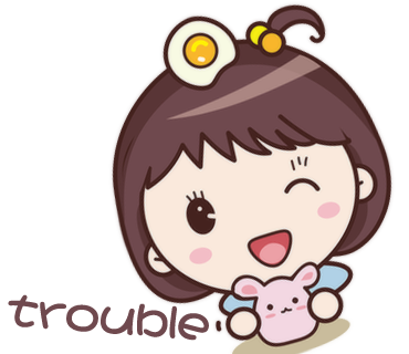 Yolk Girl Sticker - Cute Message Sticker Emoji messages sticker-0