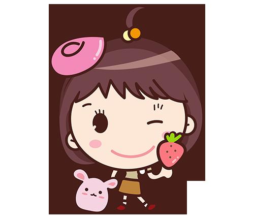 Yolk Girl Sticker - Cute Message Sticker Emoji messages sticker-9