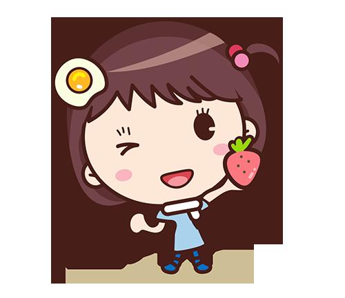 Yolk Girl Sticker - Cute Message Sticker Emoji messages sticker-7