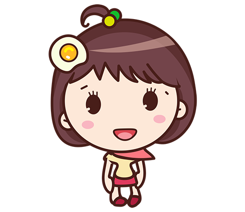 Yolk Girl Sticker - Cute Message Sticker Emoji messages sticker-1