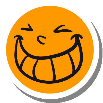 Funny Smile Stickers for iMessage messages sticker-1