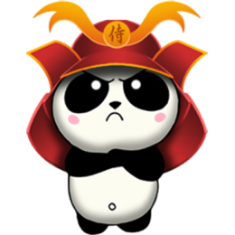 Samurai Panda stickers by CandyASS messages sticker-5