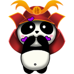 Samurai Panda stickers by CandyASS messages sticker-10