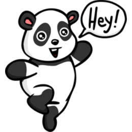 Panda stickers by EricBlak1947 messages sticker-0