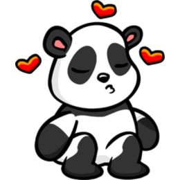 Panda stickers by EricBlak1947 messages sticker-1