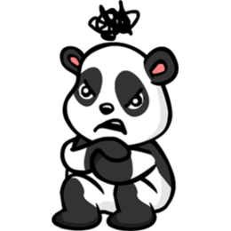 Panda stickers by EricBlak1947 messages sticker-4