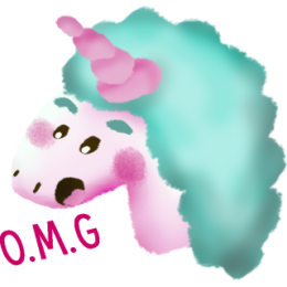 Unicorns stickers by meltem messages sticker-11