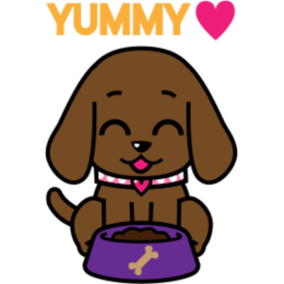 Miss Muddy Puppy stickers for iMessage messages sticker-3
