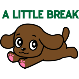 Miss Muddy Puppy stickers for iMessage messages sticker-1