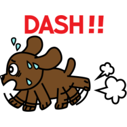 Miss Muddy Puppy stickers for iMessage messages sticker-4