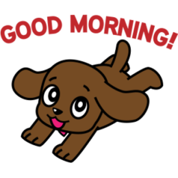 Miss Muddy Puppy stickers for iMessage messages sticker-2