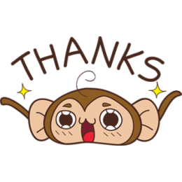 Juppy The Monkey - 1 stickers by Animal Retard messages sticker-7