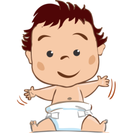 Baby - stickers by Weds for iMessage messages sticker-4