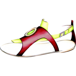 Female Shoes stickers by Weds for iMessage messages sticker-8